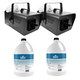 Chauvet Snow Machine and Snow Fluid 2 Pack