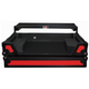 ProX XS-DDJSXWLTRB Red on Black Case for Pioneer DDJ-SX2 DJ Controller