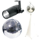Eliminator 20-Inch Mirror Ball with Stand and LED Pinspot