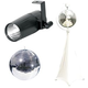 Eliminator 12-Inch MirrorBall with Stand & LED PinSpot
