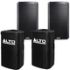 Alto TS215 15-Inch Powered Speakers with Covers