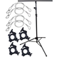Solena LS-100 Lighting Stand Package with Clamps and Safety Cables