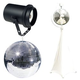 Eliminator 20-Inch Mirror Ball Pack with Stand and Pinspot