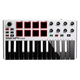 AKAI MPK Mini Mk2 White USB Keyboard Controller