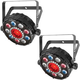 Chauvet FXPAR 9 LED Effect Wash Light 2-Pack