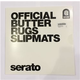 Serato Official Butter Rugs (2) 12-Inch Slipmats White