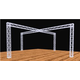 Global Truss 20 Ft x 20 Ft Complete Booth Display Cross Truss Structure