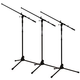 Solena Professional MS-200 Mic Stand 3-Pack