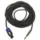 50-Foot Speakon to 1/4-Inch Speaker Cable