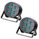 Solena Max Par 70 Quad RGBW LED Wash Light 2-Pack