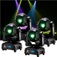 ADJ American DJ Focus Spot Two 75-Watt LED Moving Head Light 4-Pack