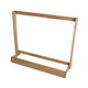 On-Stage GS7565W Guitar Case Rack Natural Wood