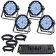 ADJ American DJ Profile Plus 4-Pack with DMX Controller