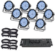 ADJ American DJ Profile Plus 8-Pack with DMX Controller