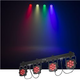 Chauvet 4BAR Flex T USB 4 x RGB LED Par Light System