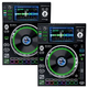 Denon SC5000 Prime Tabletop DJ Media Player Pair