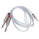 "5ft Audio Cable 1/8"" TRS M to Dual 1/4"" TS M"