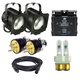 Altman 65Q Fresnel Light 2-Pack with DMX Dimmer Pack