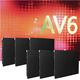 ADJ American DJ AV6X3X2 6-Panel AV6X LED Video Wall System
