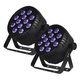 Blizzard LB Par Hex RGBAW+UV LED Wash Light 2-Pack