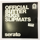 Serato Official Butter Rugs (2) 12-Inch Slipmats Black