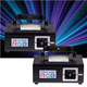 X-Laser PSX 400 RGB Laser Effect Light 2-Pack