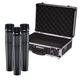Shure SM57 Instrument Mic 3-Pack with Carrying Case
