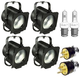 Altman 65Q Fresnel Light 4-Pack w/ Lamps & AC Plugs