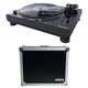Numark TT250USB Direct Drive DJ Turntable with Road Case