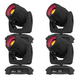 Chauvet Intimidator Spot 355 IRC LED Moving Head Light 4-Pack