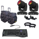 Chauvet Intimidator Spot 355 IRC 2-Pack with Bag and DMX Controller