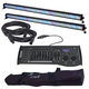 ADJ American DJ Mega Bar RGBA Wash Bar Light 2-Pack w/ DMX Controller & Bag