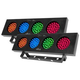 Chauvet DJ Bank RGBA LED Color Bank Light 2-Pack