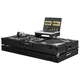 Odyssey FZGSLBM10WBL Glide DJ Coffin for 10-Inch Mixer and 2 Turntables