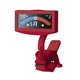 Korg AW4GRD Pitchcrow Clip-on Tuner in Red