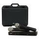 Shure BLX288 PG58 Dual Wireless Mic System with Gator Case