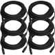50ft XLR to XLR Microphone Cable 6-Pack