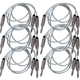 "5ft Audio Cable 1/4"" TS to Dual 1/4"" TS 6-Pack"