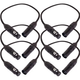 1.5ft 3-Pin DMX Lighting Cable 6-Pack
