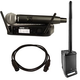 JBL EON ONE PA System with Shure GLXD24 SM58 Wireless Mic System