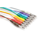 1.5 Ft Mono PatchBay Cable Set of 8 1/4 to 1/4 (M