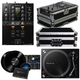 Pioneer DJM-250MK2 Mixer with PLX-500K Turntable & Denon DS1