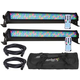 ADJ American DJ Mega Bar 50RGB RC LED 2-Pack with Bag & Cables