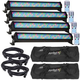 ADJ American DJ Mega Bar 50RGB RC LED Bar Light 4-Pack w/ Bags & Cables