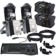 Chauvet Intimidator Barrel 305 IRC LED 2-Pack with Bags