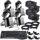 Chauvet Intimidator Scan 305 IRC LED 4-Pack with Gig Bags