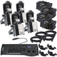 Chauvet Intimidator Barrel 305 IRC LED 4-Pack with Gig Bags