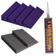 Auralex Designer Series Room Kit - Purple        +