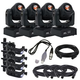 ADJ American DJ Stinger Spot Led Moving Head 4-Pack w/ DMX Controller & Cables