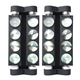 MARQ Ray Tracer X Dual Roller LED Moving Head Light  2-Pack